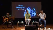 14/04/2019 Indian comedy and music group Aisi Taisi Democracy play in Kashmir / taken in Kashmir / by Namratha Singh, 2019