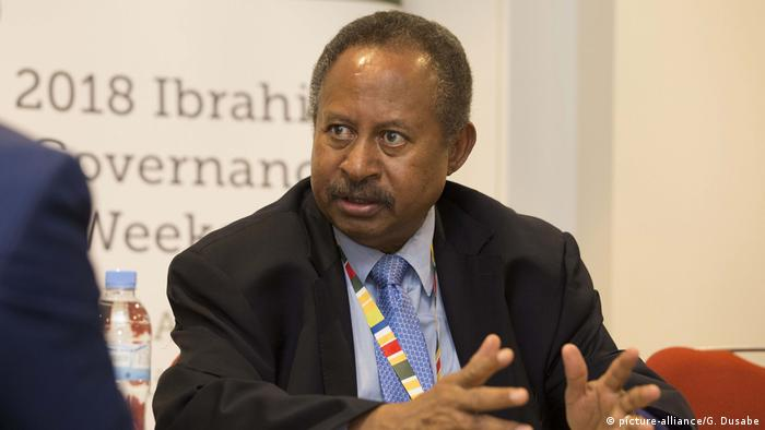 Abdalla Hamdok (picture-alliance/G. Dusabe)