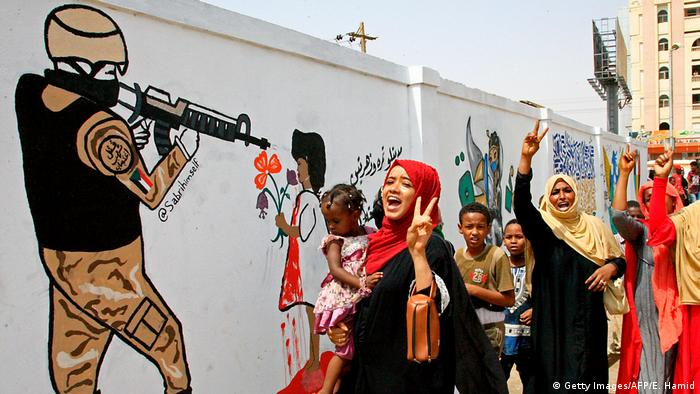 Sudan: Proteste in Khartoum (Getty Images/AFP/E. Hamid)