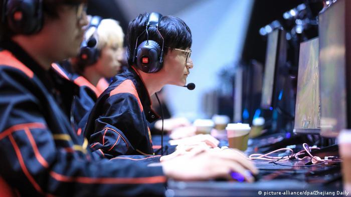 China E-Sportler (picture-alliance/dpa/Zhejiang Daily)