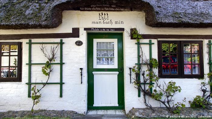 Традиционный дом на остове Фёр