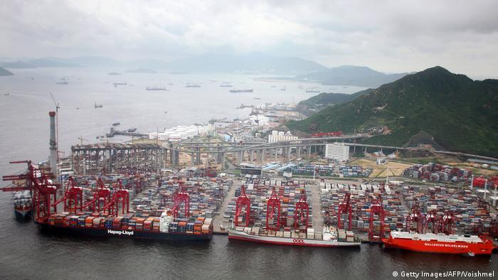 China, Hongkong: Hafen