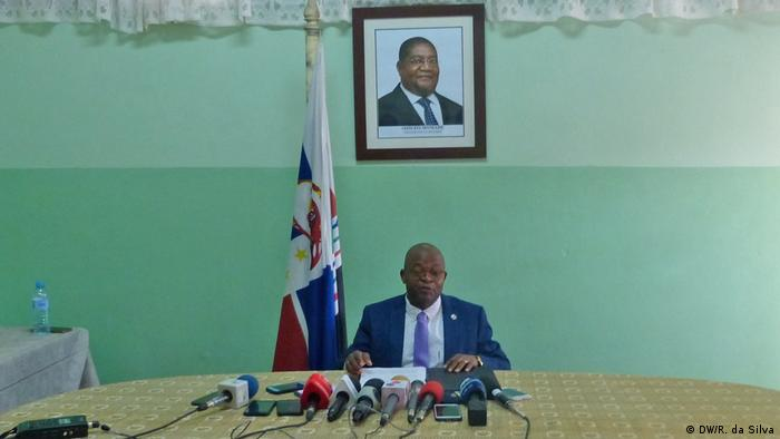 Mosambik Maputo | Renamo-Partei | José Manteigas, Sprecher