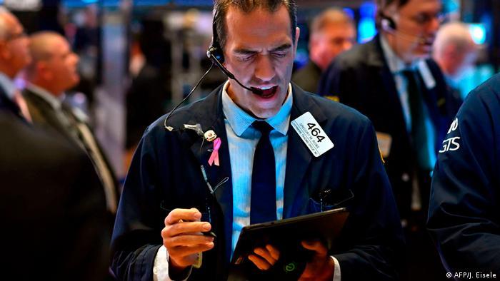 USA Börsen auf Talfahrt (AFP/J. Eisele)