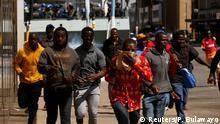 Simbabwe Harare | Demonstration & Ausschreitungen | Movement for Democratic Change