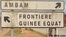Grenze zwischen Äquatorialguinea und Kamerun