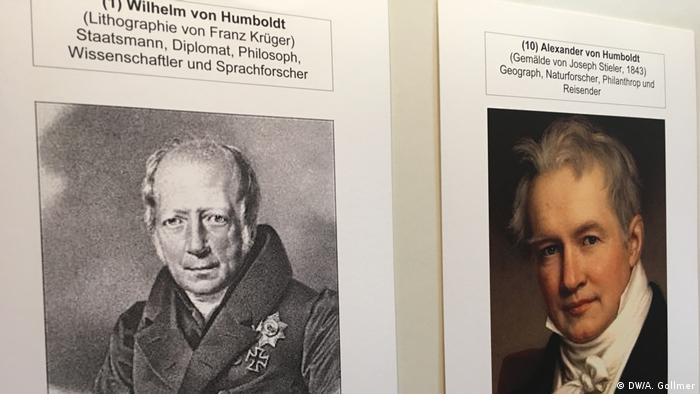 Austellung Prägende Persönlichkeiten für das deutsch-indonesische Verständnis (DW/A. Gollmer)