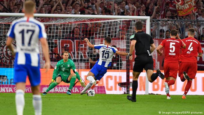 1. Bundesliga 01. Spieltag   FC Bayern München vs. Hertha BSC Berlin   TOR Hertha