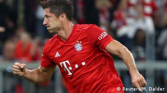 1. Bundesliga 01. Spieltag | FC Bayern München vs. Hertha BSC Berlin | TOR Robert Lewandowski