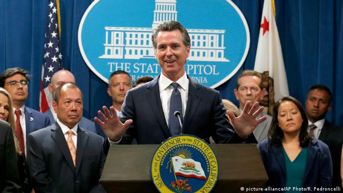 Gavin Newsom (picture-alliance/AP Photo/R. Pedroncelli)