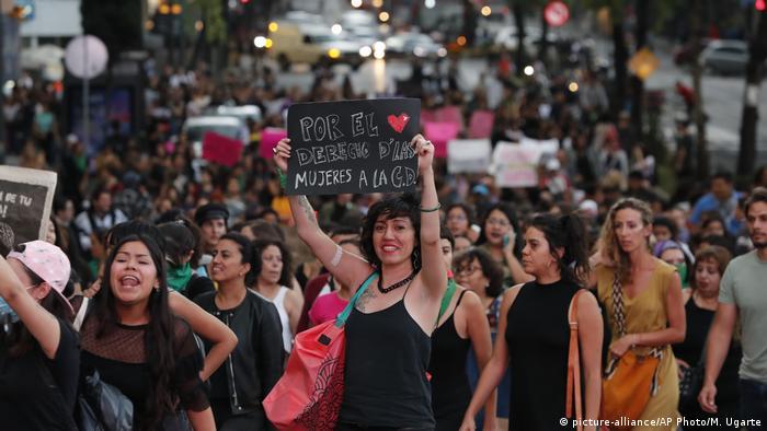 Mexiko Frauenprotest