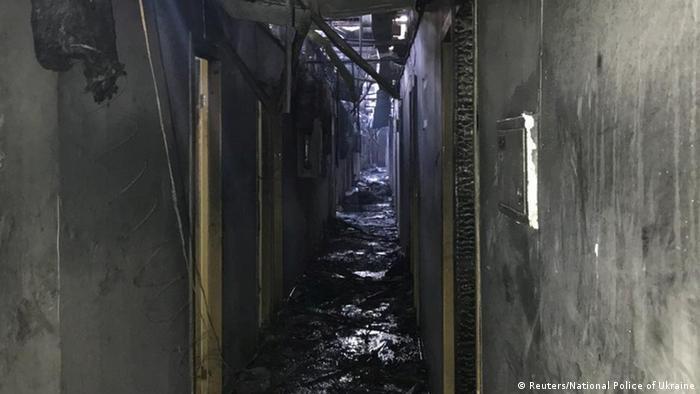 Наслідки пожежі в готелі Токіо стар в Одесі
