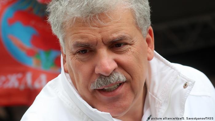 Pavel Grudinin.