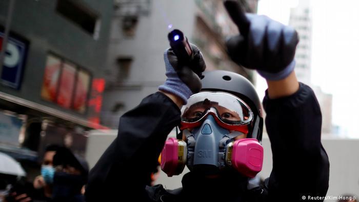 Hong Kong | Proteste in Hong Kong (Reuters/Kim-Hong-Ji)