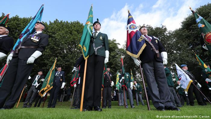 A parade to mark 50 years since British troops entered Northern Ireland
