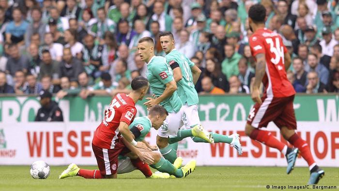 1. Bundesliga 01. Spieltag | Werder Bremen vs. Fortuna Düsseldorf (Imago Images/C. Bergmann)