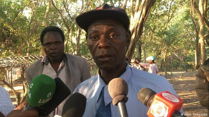 Mozambique's RENAMO junta leader Mariano Nhongo (DW/A. Sebastião)
