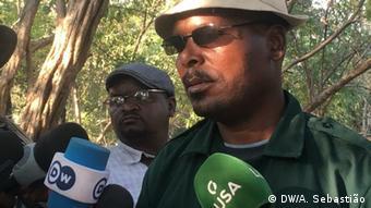 Mosambik RENAMO-Militärjunta in Gorongosa | João Machava, Sprecher