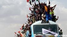 BdTD Sudan Feier zu Machtübergabe des Militärs