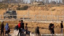 Gaza-Streifen Israelische Armee an Grenzzaun