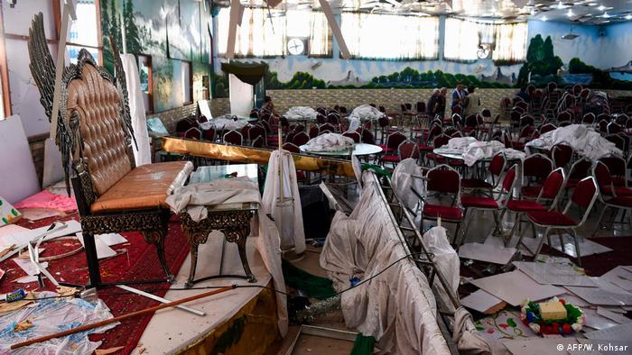 حمله انتحاری به یک مراسم عروسی در منطقه شیعهنشین غرب کابل ۶۳ کشته و دهها مجروح به جای گذاشت، ۱۷ اوت ۲۰۱۹