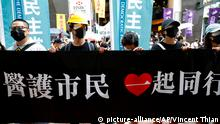 Hongkong Demonstration und Proteste