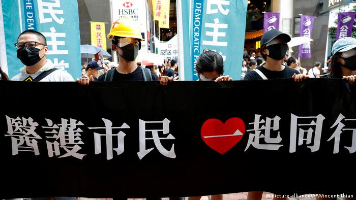 Hongkong Demonstration und Proteste (picture-alliance/AP/Vincent Thian)