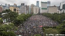 Hongkong Victoria Park Demonstration und Proteste (AFP/I. Lawrence)