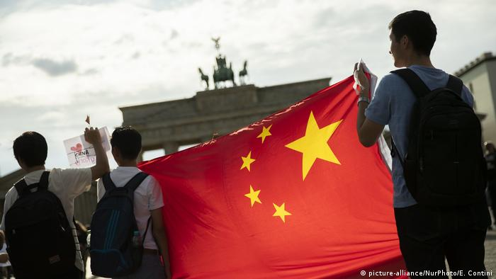 Support To Hong Kong Protests In Berlin (picture-alliance/NurPhoto/E. Contini)