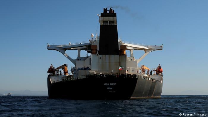 Spanien Gibraltar | In Adrian Darya 1 umbenannter Grace 1 Supertanker