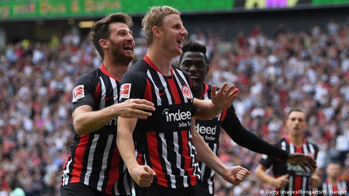 1. Bundesliga 01. Spieltag | Eintracht Frankfurt vs. TSG 1899 Hoffenheim (Getty Images/Bongarts/M. Hangst)
