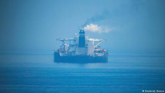Öltanker Adrian Darya - Grace 1 bei Nacht (Reuters/J. Nazca)