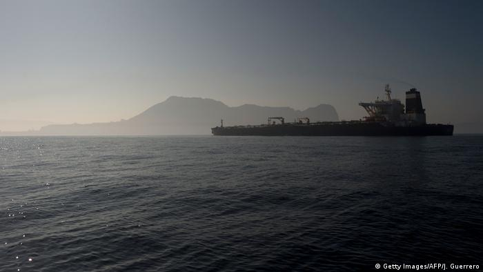 Öltanker Adrian Darya - Grace 1 bei Nacht