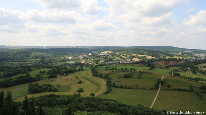 Erzgebirge region in Eastern Germany