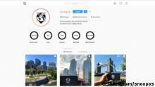 Screenshot Instagram Snoopos