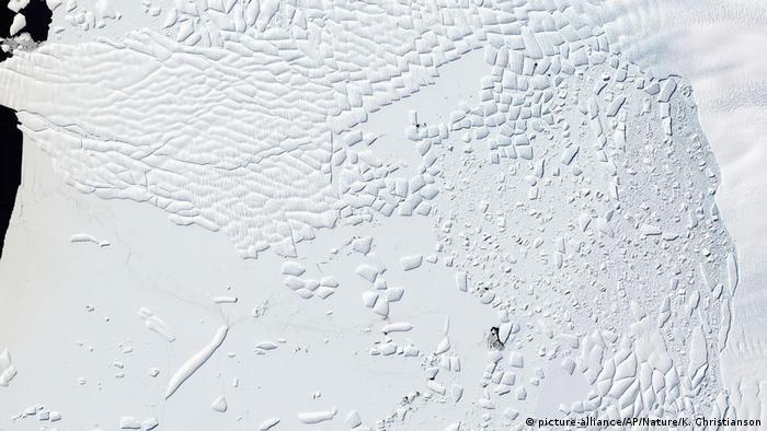 Antarktis Thwaites Gletscher
