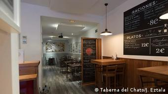 Interior view of Taberna del Chato tapas bar in Madrid, Spain (Taberna del Chato/J. Eztala)