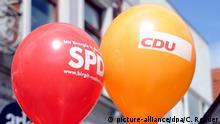 Große Koalition CDU SPD