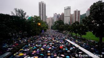 Hong Kong, Proteste (Reuters/A. Song)