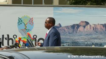 Äthiopien inhaftierter ehemaliger Präsident der Region Somale Abdi Mohamoud Omar (DW/Y. Geberegziabher)
