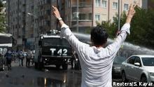 Protest um Absetzung kurdischer Bürgermeister Polizei Diyarbakir