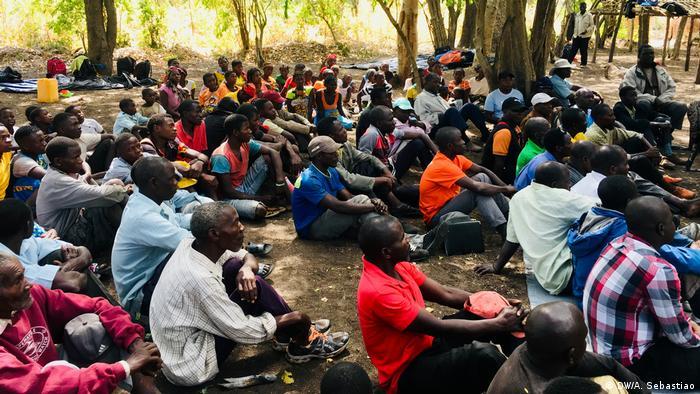 Guerrilheiros dissidentes da RENAMO na Gorongosa