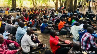 RENAMO Guerillakämpfer in Gorongosa, Mosambik