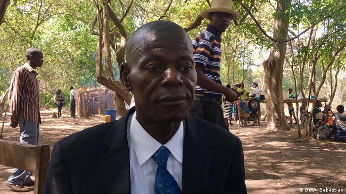 O major-general Mariano Nhongo