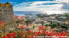 Fortaleza do Pico Stadtpanorama Funchal Madeira Portugal