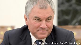Duma-Sprecher Wolodin: Ich bleibe dran