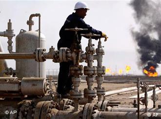 Iraqi oil refinery