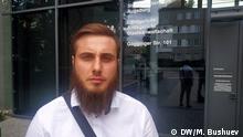 Mochmad Abdruchmanow, 24 Jahre alt, aus Tschetschenien, sucht Asyl in Deutschland