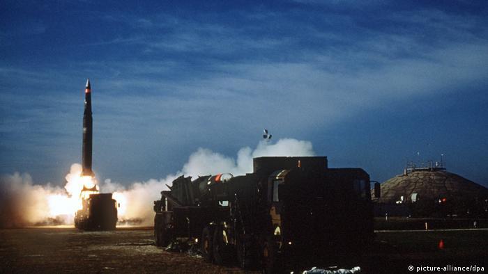 USA Start einer Pershing II-Rakete