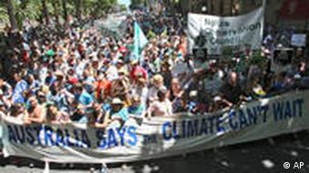 Demonstrationszug in Sydney (Foto: ap)